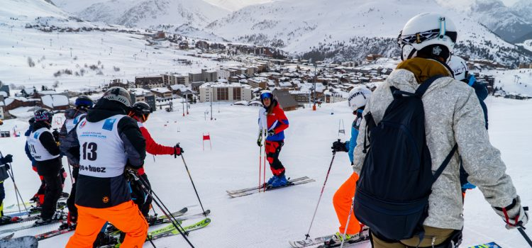First Ever 'Augmented' Skiing World Championships Takes Place In Alpe d'Huez, France