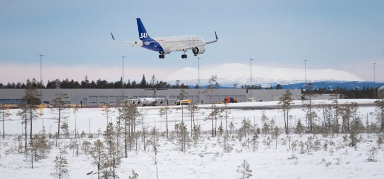 Scandinavian Travel Launches Charter Flight Directly Into New Swedish Mountain Airport