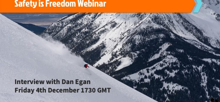 HAT Launch 'Safety is Freedom' Webinars For Skiers Looking To Stay Safe When Off-piste Or Ski Touring