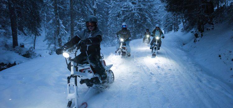 Eco-friendly Non-Ski Activities Launch This Winter With Oxygene Ski School – MoonBikes And E-Biking